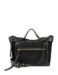 Kooba Liv Satchel Bag Black
