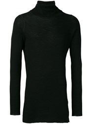 The Viridi Anne Turtle Neck Sweater Black