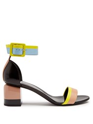 Pierre Hardy Memphis Colour Block Sandals Nude Multi