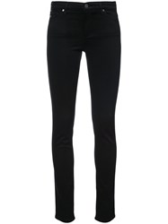 Ag Jeans Classic Skinny Women Cotton Polyester Polyurethane Modal 29 Black