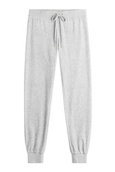 Juicy Couture Velour Track Pants Grey