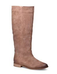 Splendid Penelope Knee High Suede Boots Tan