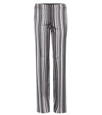 Edun Striped Track Pants Grey