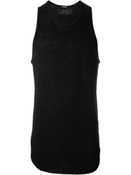Balmain Sleeveless Top Black