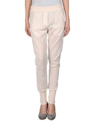 Jersey Costume National Casual Pants Light Pink