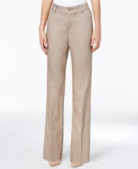 Lee Platinum Madelyn Straight Leg Trousers Light Fawn