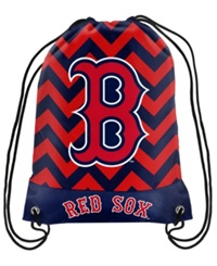 Forever Collectibles Boston Red Sox Chevron Drawstring Backpack