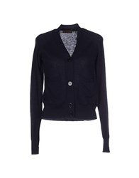 Alpha Massimo Rebecchi Knitwear Cardigans Women Dark Blue