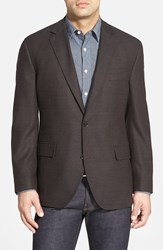 Kroon 'Taylor' Regular Fit Wool Sport Coat Brown