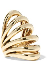 Lisa Eisner Insolare Bronze Ring Gold