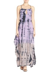 Women's Fraiche By J Tie Dye Halter Maxi Dress