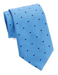 Brooks Brothers Classic Polka Dot Tie Light Blue