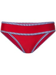 Duskii Iao Valley Bikini Pants Women Neoprene 12 Red