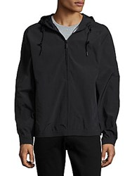 Andrew Marc New York Rogers Bomber Jacket Black