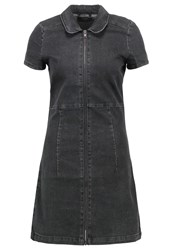 Evenandodd Denim Dress Black Denim