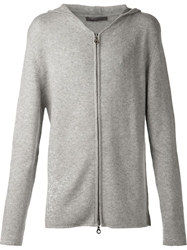 Denis Colomb Hooded Sweatshirt Grey