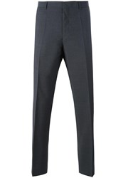 Hugo Boss Slim Fit Tailored Trousers Grey