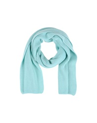 Cains Moore Oblong Scarves Sky Blue