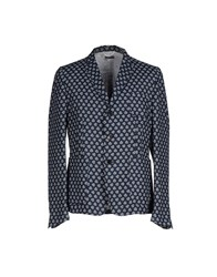 Paolo Pecora Man Suits And Jackets Blazers Men Dark Blue