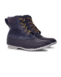 Sorel Cheyanne Lace Full Grain Boot Grey
