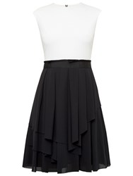 Ted Baker Saleito Soft Layer Ruffle Dress Black