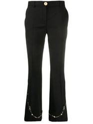 Versace Embellished Flare Trousers 60