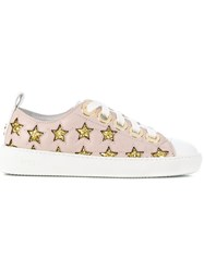 N 21 No21 Low Top Star Sneakers Pink And Purple