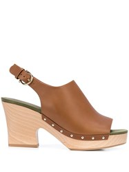 Salvatore Ferragamo 40Mm Clog Sandals 60