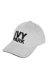 Logo Baseball Cap By Ivy Park Grey Marl