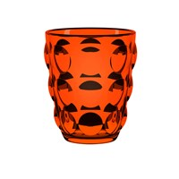 Italesse Bolle Tumbler Set Of 6 Orange