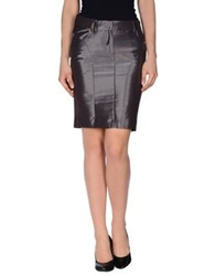 Guess By Marciano Knee Length Skirts Lead