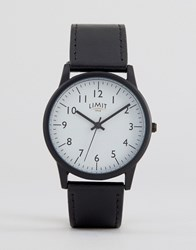 Limit Watch In Black Exclusive To Asos Black