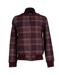 Madson Discount Jackets Maroon