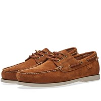 Polo Ralph Lauren Bienne Ii Classic Boat Shoe Brown
