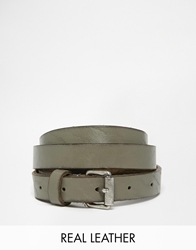 Becksondergaard Becksondergaard Clean Leather Belt Grey