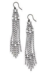 Cristabelle Women's Chain Fringe Earrings