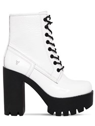 Windsor Smith 120Mm Eline Patent Leather Boots White