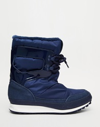 Adidas Originals Snowrush Navy Snow Boots Nightindigo