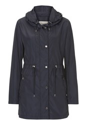 Betty Barclay Lightweight Parka With Hood Blue