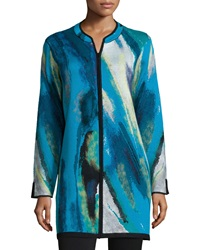 Berek Twilight Blue Long Jacket Women's
