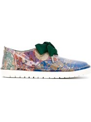 Marsa Ll Ribbon Lace Shoes Multicolour