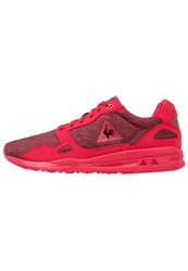Le Coq Sportif Lcs R900 Interstellar Jacquard Trainers Vintage Red