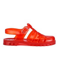 Juju Women's Maxi Jelly Sandals Burnt Amber Orange