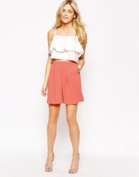 Oasis Culotte Short Coral