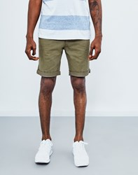 The Idle Man Chino Short Green