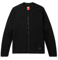 Nike Tech Knit Bomber Jacket Black