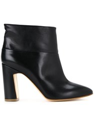 Rupert Sanderson Pointed Toe Ankle Boots Black