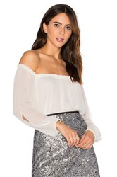Sanctuary Chantel Off The Shoulder Top White