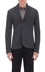 James Perse Twill Three Button Sportcoat Black Size 1 S