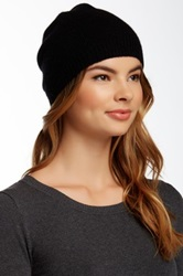 14Th And Union Basic Cashmere Beanie Black